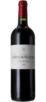 LE SEUIL DE MAZEYRES 2019 - SECOND WINE OF CHATEAU MAZEYRES