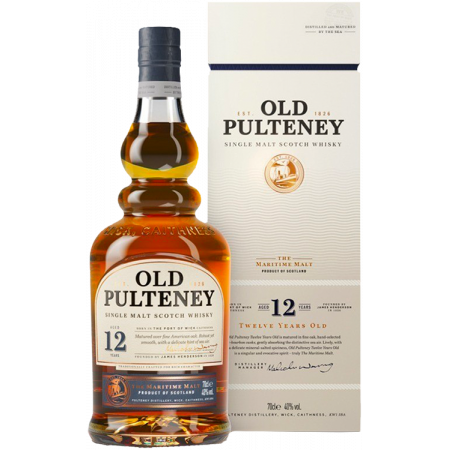 OLD PULTENEY 12 YEARS OLD - IN PRESENTATION CASE