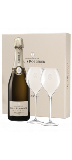 CHAMPAGNE LOUIS ROEDERER - COLLECTION 242 - GIFT SET 2 GLASSES