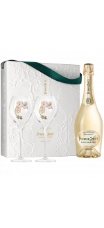 CHAMPAGNE PERRIER JOUËT - BLANC DE BLANCS - GIFT SET 2 GLASSES