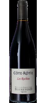 COTE ROTIE - LES ROCHINS 2019 - DOMAINE BONNEFOND