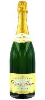 CHAMPAGNE CUVEE SELECTION BRUT - THIERRY MASSIN ABIMEE( France-Champagne-Champagne AOC-White-0,75L )