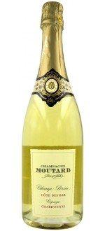 CHAMPAGNE CHAMP PERSIN - CHAMPAGNE MOUTARD PERE & FILS ( France-Champagne-Champagne AOC-White-0,75L ) etiquette abimee