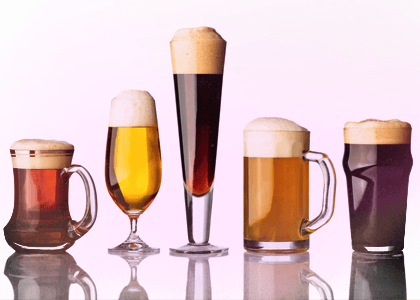 Beer Glasses for beer tasting at the best price online