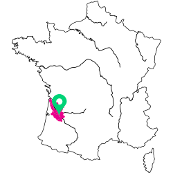 Carte de l'appellation de la Loire