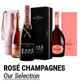 Rose Champagne on vinatis: buy the best quality at the smallest price
