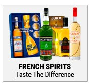 French Spirits are famous for a reason, and we have the widest choice online!