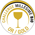 GOLD Medal - Concours Challenge Millesime Bio 2017