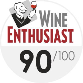 Wine Enthusiast : 90/100