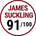 James Suckling : 91/100