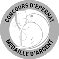 Concours d'Epernay - Médaille d'ARGENT - Concours d'Epernay 2016