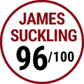 James Suckling : 96/100