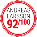 Andreas Larsson : 92/100